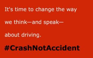 Pedestrian deaths-#crashnotaccident