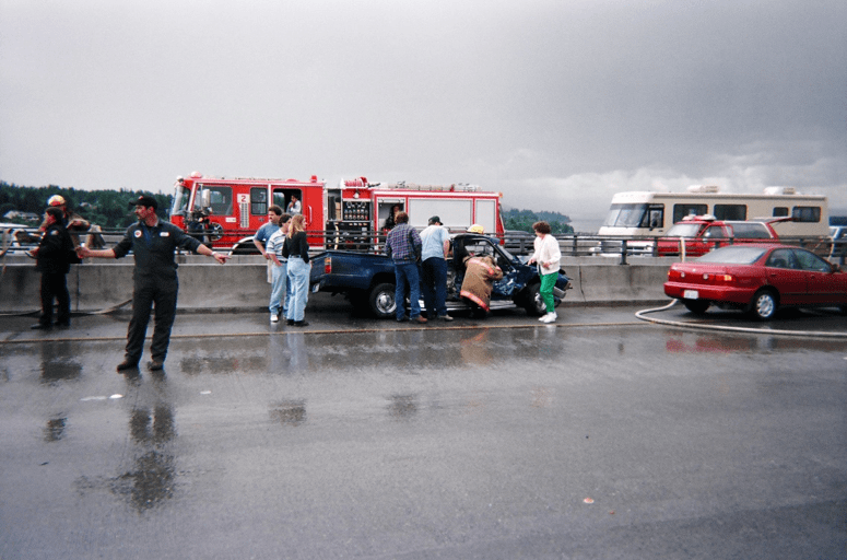 Truck crash caused by Semi-Coluccio-Lawyer-Seattle