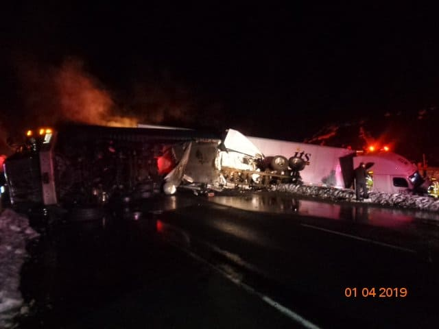 Fatal Truck Crash Snoqualmie Pass